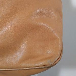 Gucci Bags - Vintage Gucci leather shoulder purse camel color